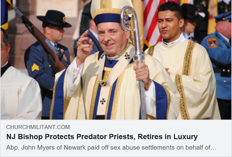 GAY MAFIA CHURCH LEADERS LIVE LIKE PARASITES OFF OF THE MONEY COMING OUT OF POOR CATHOLICS.