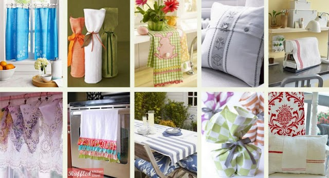 DIY Κατασκευές από  πετσέτες κουζίνας