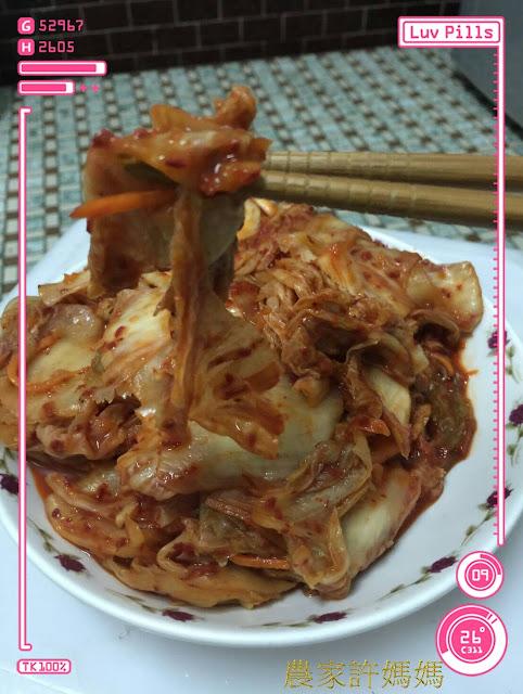 濃稠夠味的韓式泡菜~怎麼能不來試試