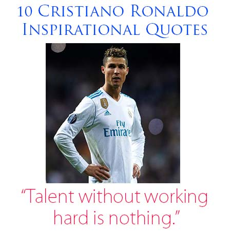 cristiano ronaldo quotes about his father