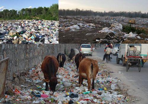 pencemaran tanah akibat sampah