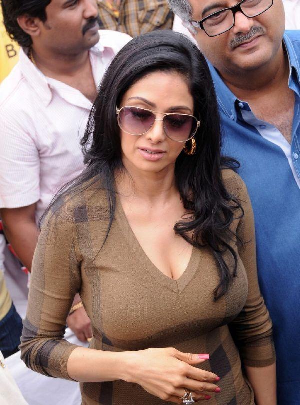 Spicy Sridevi Hot Sridevi In Appal Raju Movie Launch