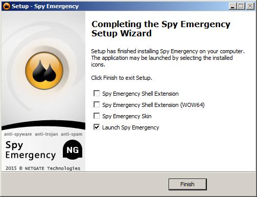 برنامج Spy Emergency لمكافحة ملفات التجسس والبرمجيات الخبيثة