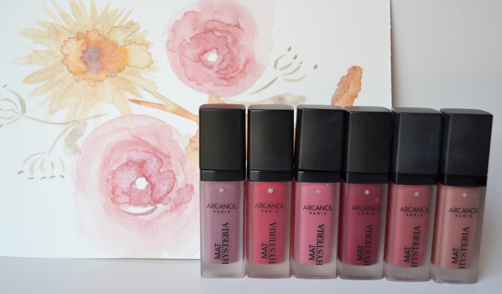Fabuleux SweetyKissLife: {Maquillage} Ma petite collection de RAL MAT  OD32