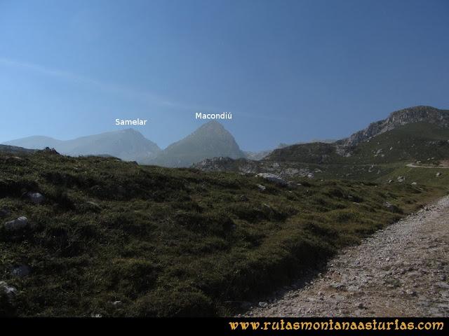 Ruta Macondiú, Samelar y Sagrado Corazón: Vista del Macondiú y Samelar