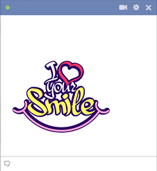 Your Smile Sticker