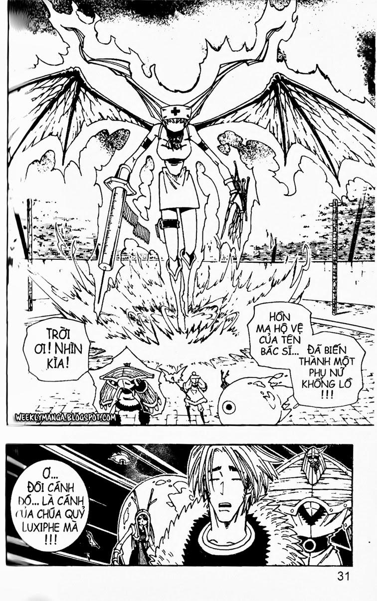 Shaman King [Vua pháp thuật] chap 131 trang 3