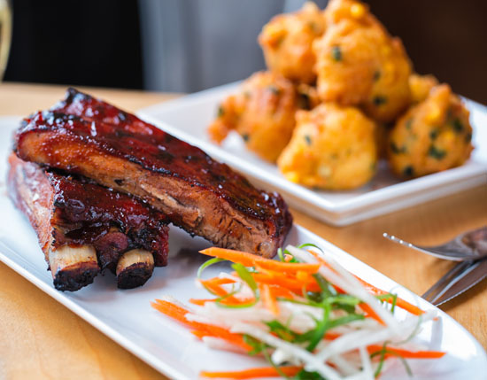 peach barbecue ribs recipe wine pairing