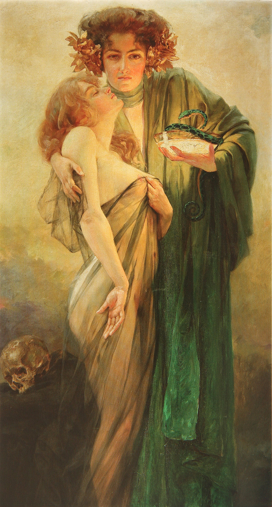Robert Auer 1873-1952 | Croatian Art Nouveau painter