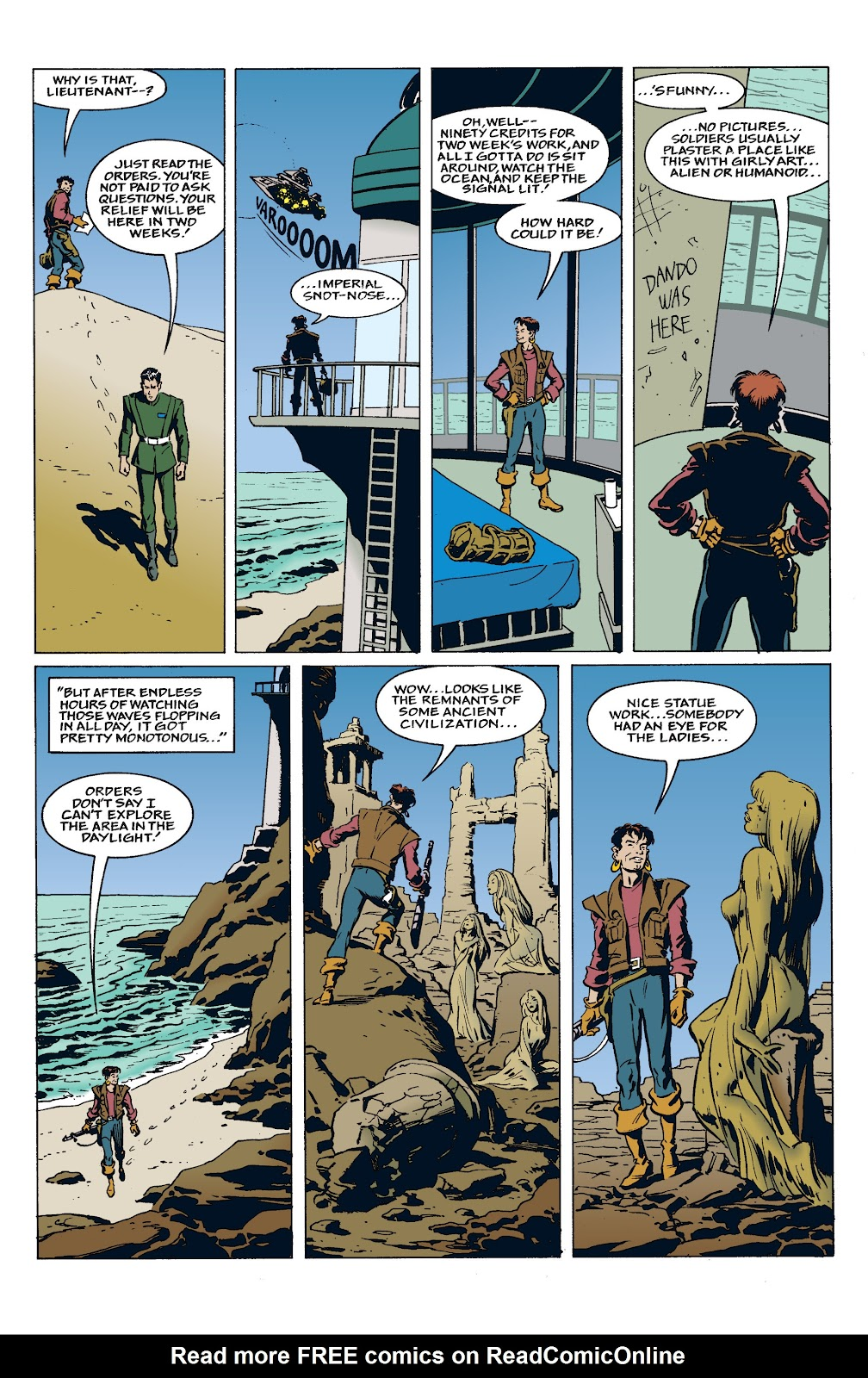 Read online Star Wars: Tales from Mos Eisley comic -  Issue # Full - 5