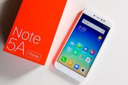 Spesifikasi dan Keunggulan Xiaomi Redmi Note 5A Prime