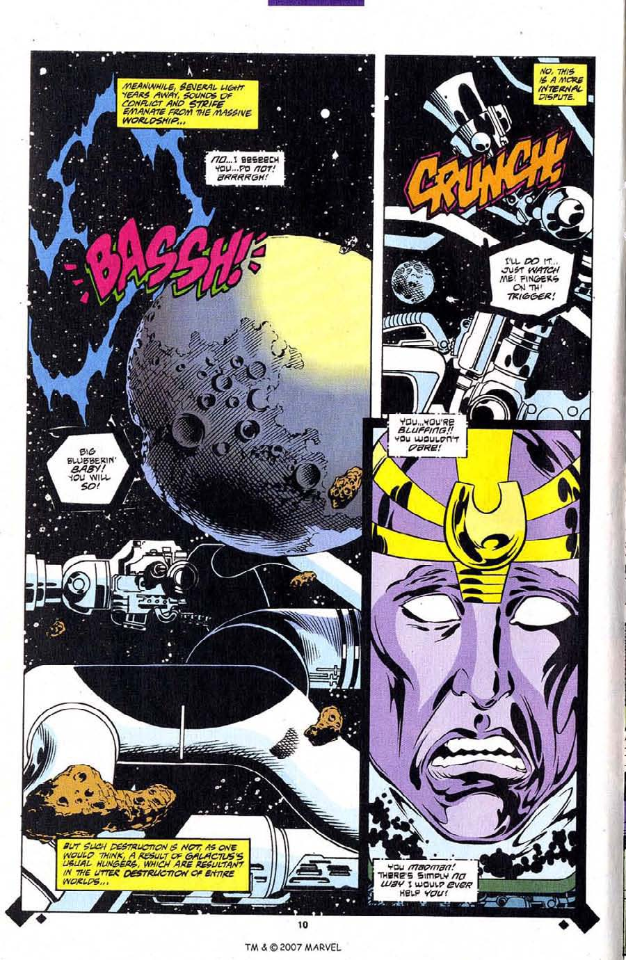 Read online Silver Surfer (1987) comic -  Issue #107 - 12