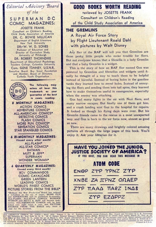 Read online All-American Comics (1939) comic -  Issue #57 - 2