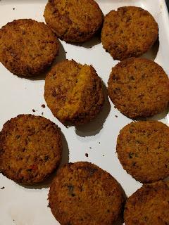 Marks and spencer sweet potato falafels Plant Kitchen