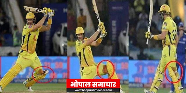 IPL NEWS | घुटने से खून बह रहा था, वॉटसन फिर भी बल्लेबाजी करते रहे | CRICKET HISTORY