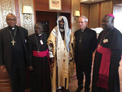 Bishop Matthew Kukah, Emir of Kano, other religious leaders meet in Italy (pics)