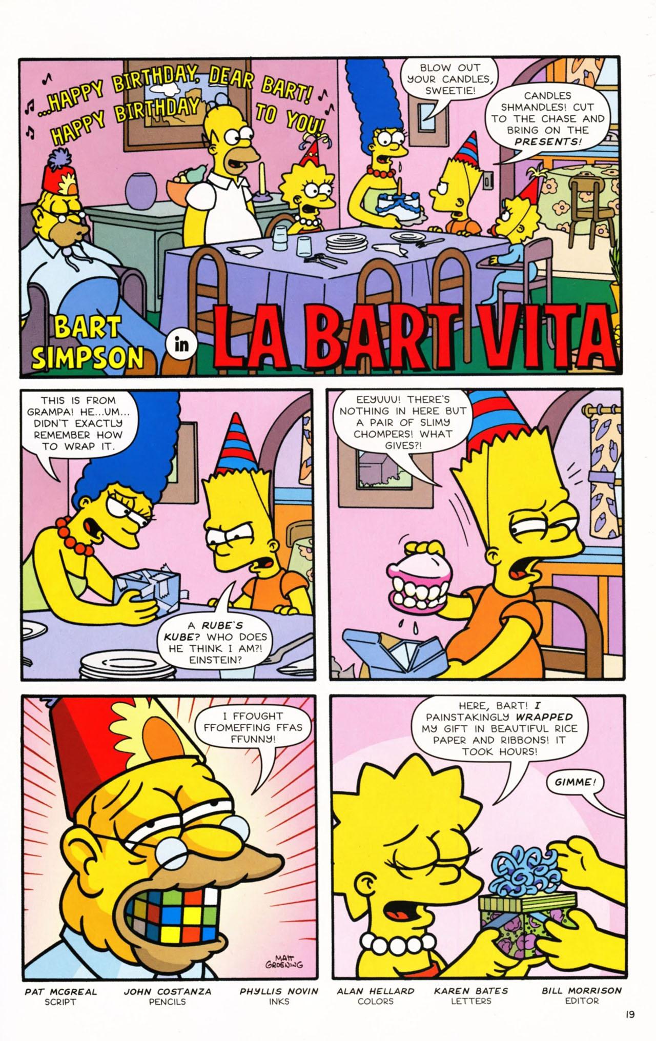 Read online Simpsons Comics Presents Bart Simpson comic -  Issue #53 - 21