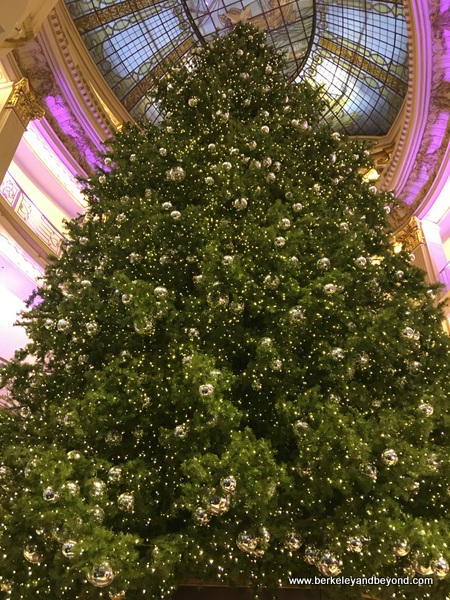 2017 Christmas tree at Neiman Marcus in San Francisco
