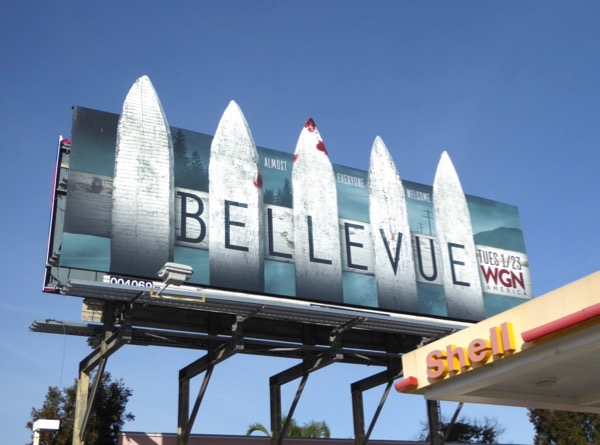 Bellevue series launch billboard