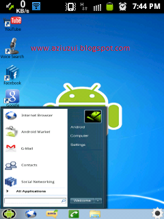Download Tema Windows7 di Android