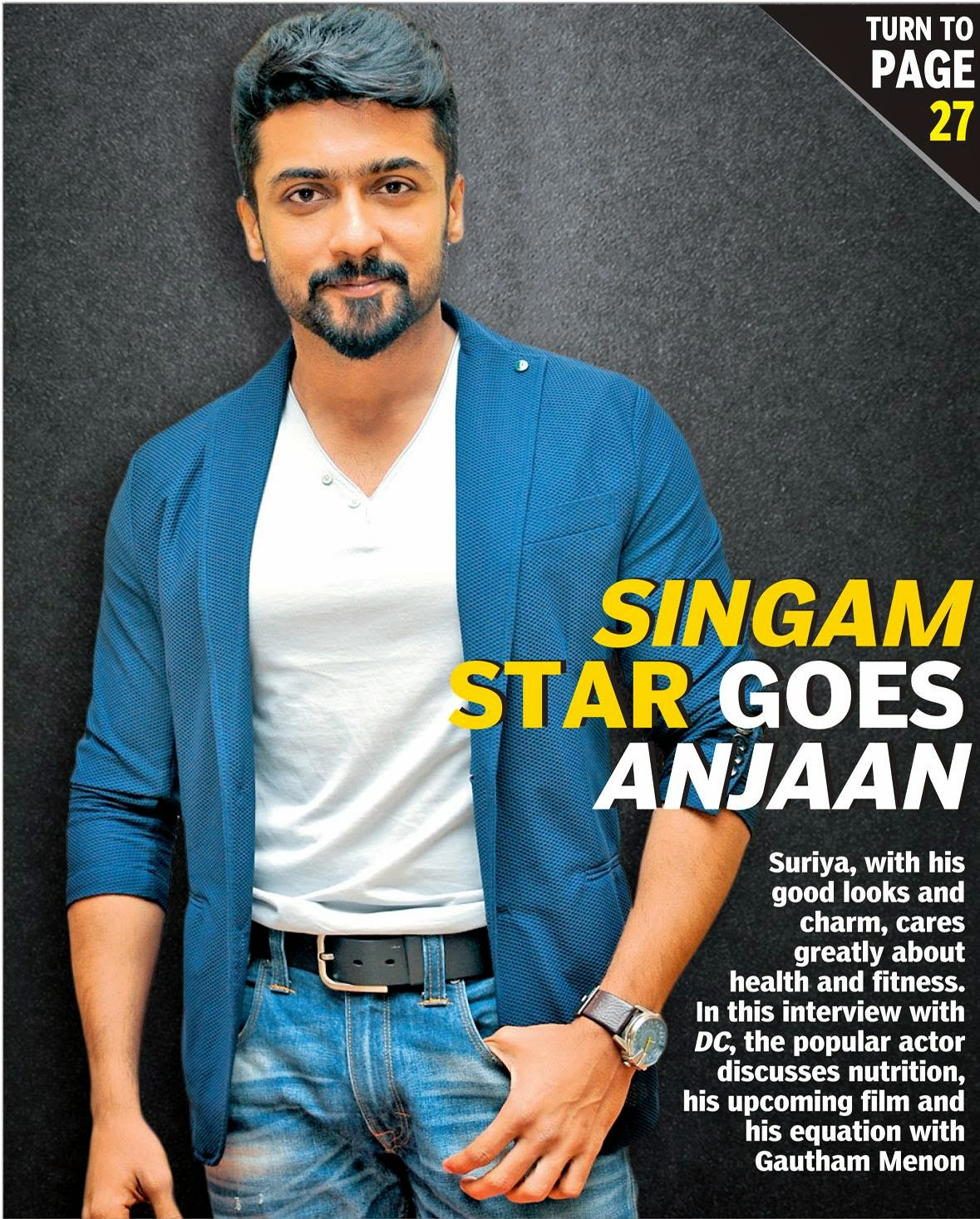In DC Magazine About Anjaan Surya Details And Photos In HD