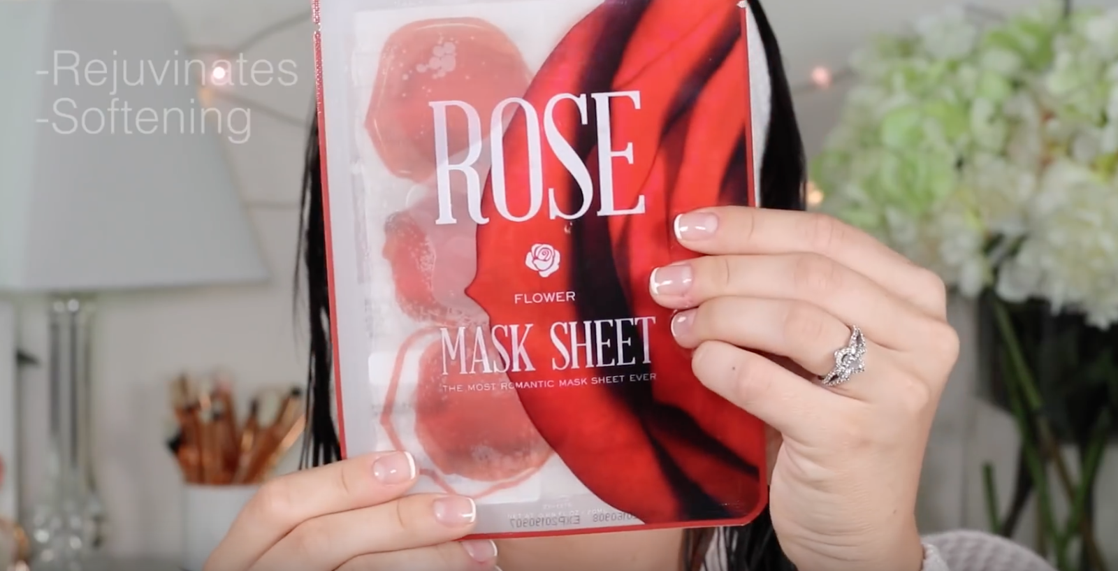 Chloe Morello: Cucumber and Petal Face Masks! Korean Slice Mask!