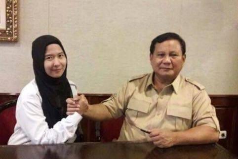 Sari Nurmala Sari dan Prabowo Subianto
