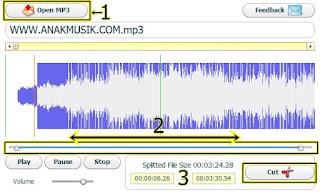 Cara Memotong Lagu Online Gratis Tanpa Software