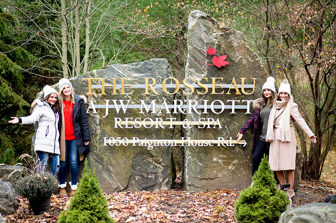 Girls Weekend at the JW Marriott The Rousseau Muskoka