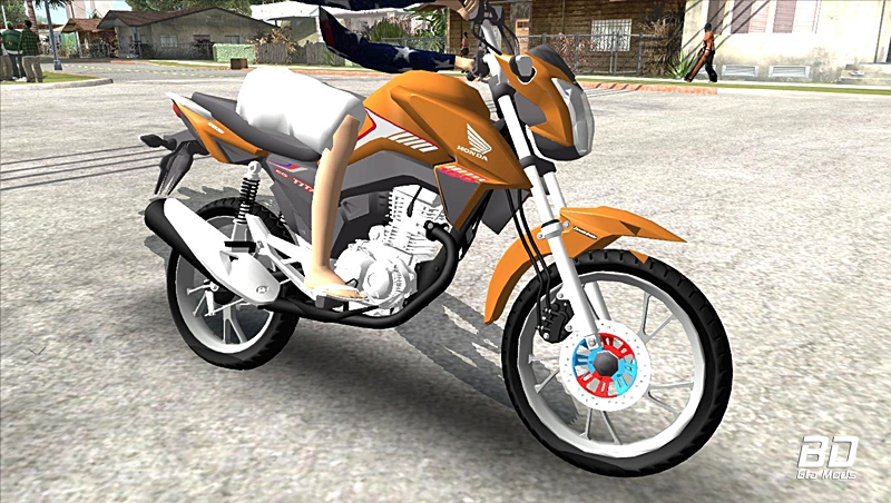 Download mod moto  HONDA TITAN 160 2018 para  GTA San Andreas