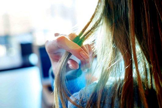 Волосы - от жирности