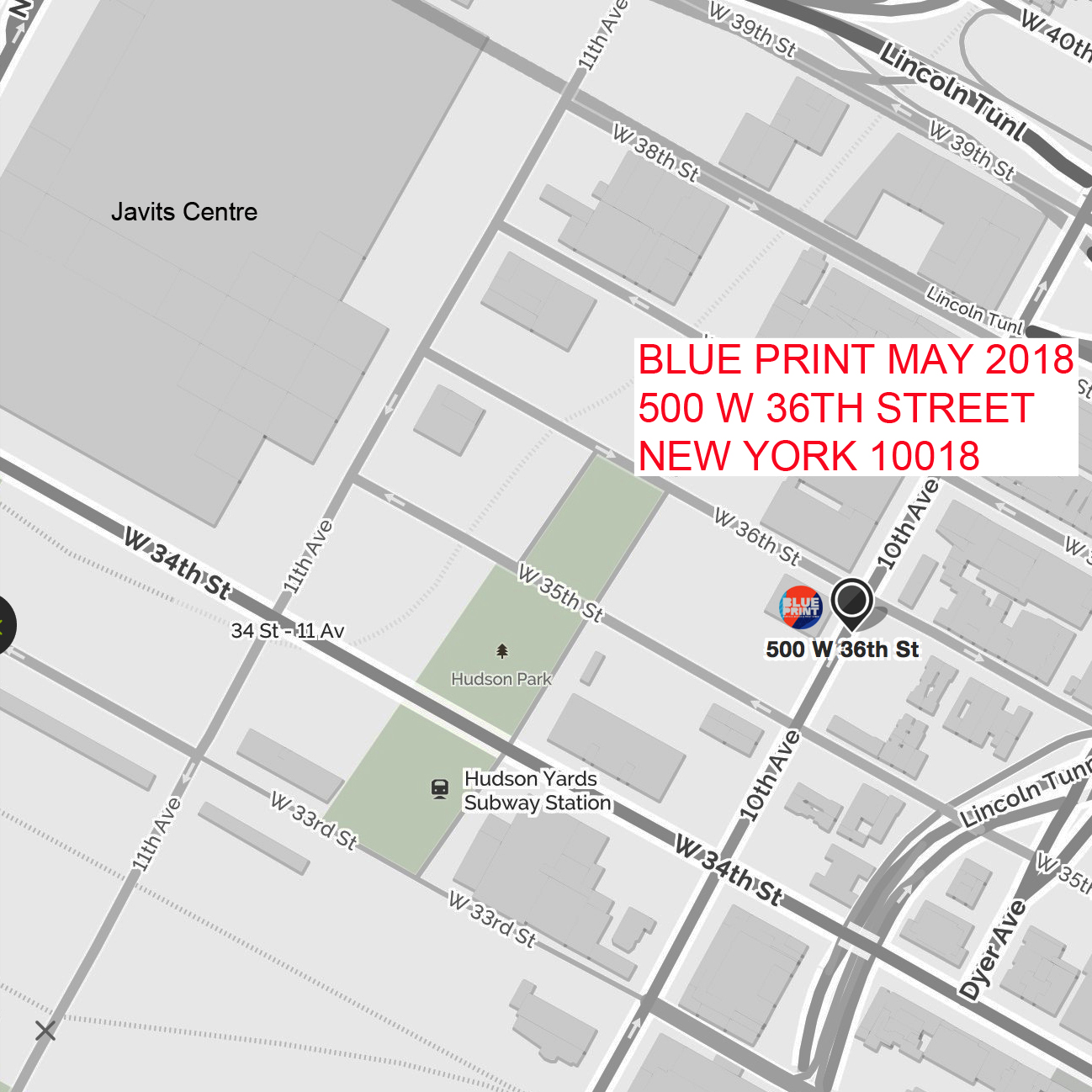 Blueprint show all the visitors to the shows this month that we are at a new venue this year it is at the hudson mercantile 500 west 36th street new york 10018 malvernweather Gallery