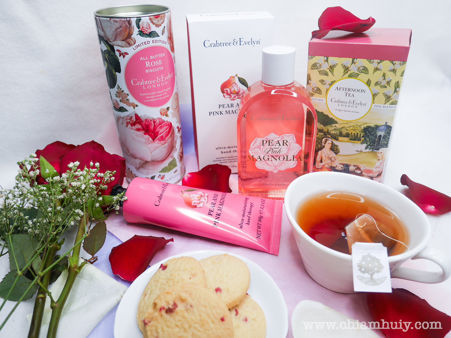 crabtree evelyn limited edition butter rose biscuits celine chiam singapore lifestyle. Black Bedroom Furniture Sets. Home Design Ideas