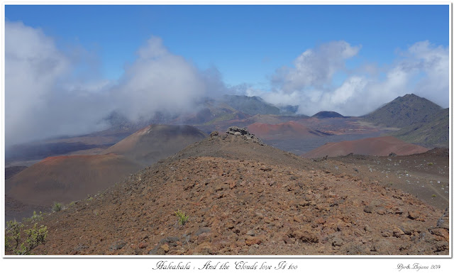 Haleakala: And the Clouds love It too