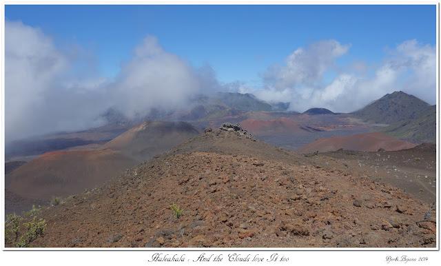 Haleakala: And the Clouds love It too