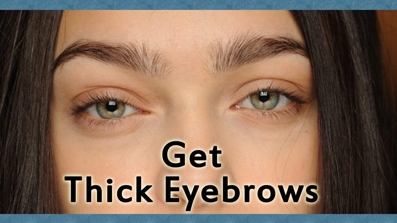 Approaches To Grow Thick Eyebrows Naturally Fow 24 News