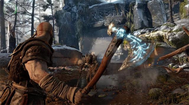 Hacha Leviatán - God of War PS4