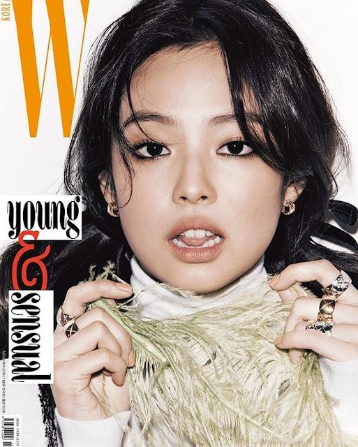 Jennie Kim - W Korea