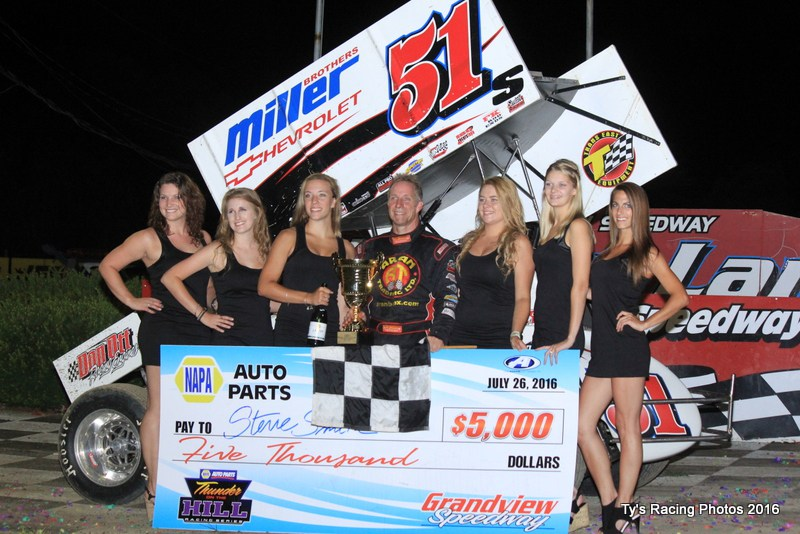 Central Pa Racing Scene Stevie Smith Claims Thunder Cup And First