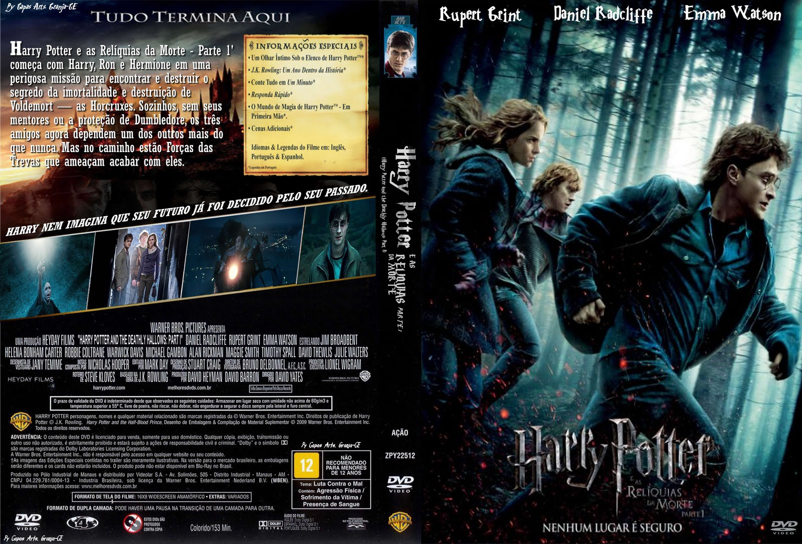 filme harry potter eas reliquias da morte parte 1