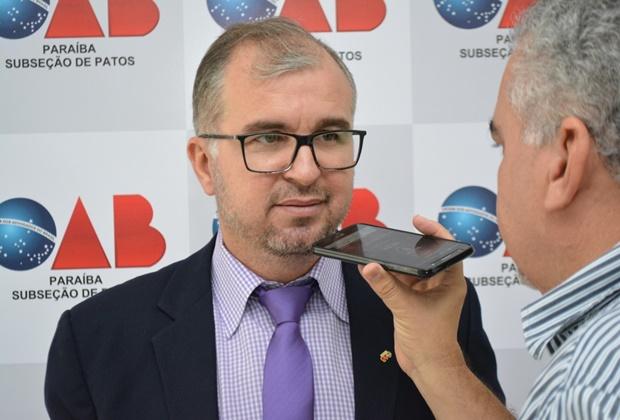 OAB diz que não outorgou poderes a advogado que pede investigação contra a gestão de Patos