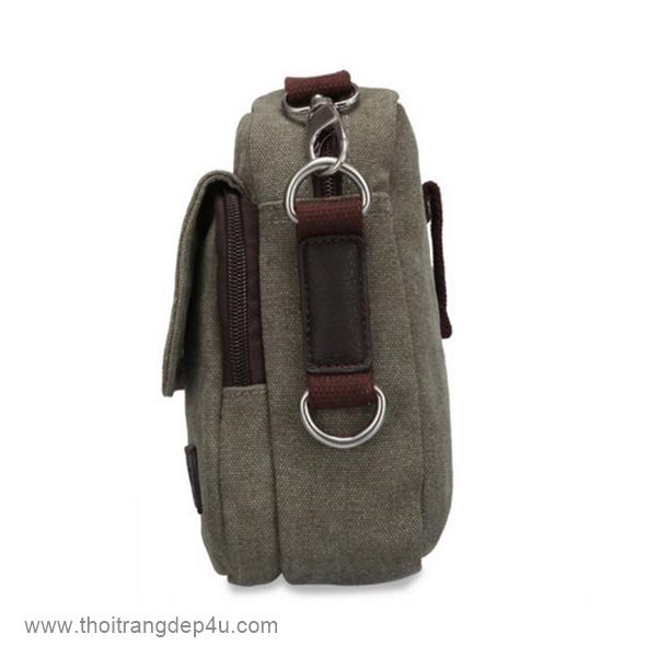 Túi đeo chéo nam vải bố giá rẻ VF277