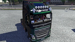 Volvo 2012 + Interior mod by TosteR