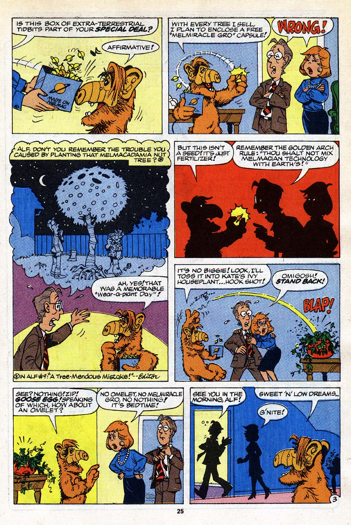 Read online ALF comic -  Issue #26 - 20