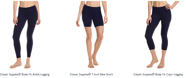 Navy Supplex Leggings