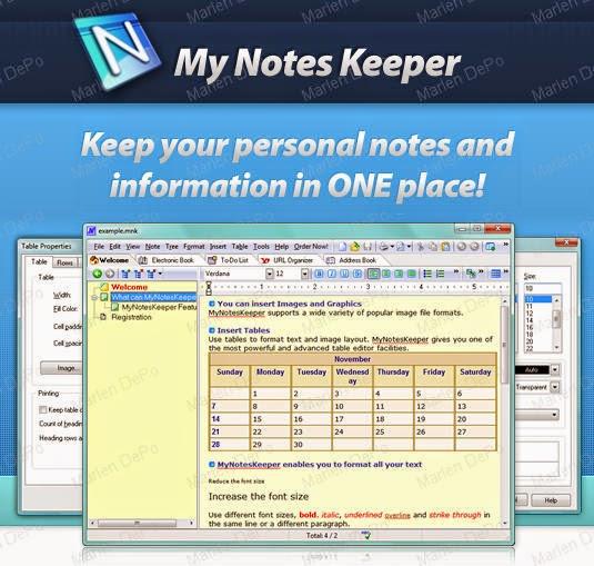 My Notes Keeper 3.7 Build 1921 + Key