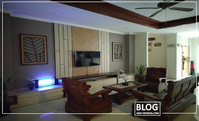 Lobi Luas dan Dilengkapi TV - Blog Mas Hendra