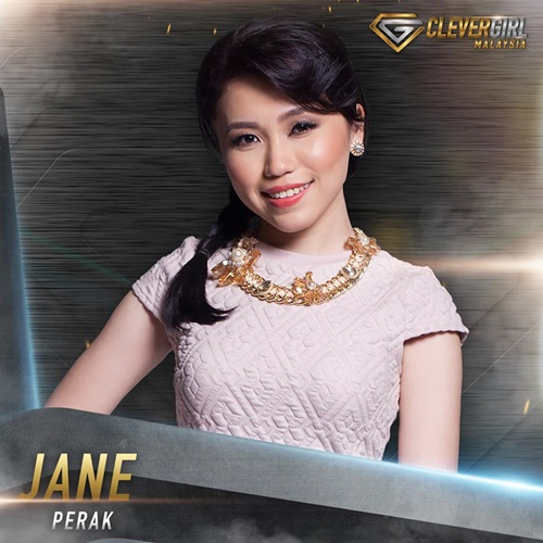 Biodata Jane Clever Girl Malaysia 2016, profile Jane Lam Wai Chuin, biografi, profil dan latar belakang Jane Clever Girl Malaysia TV3, foto, gambar Jane Clever Girl Malaysia, facebook, instagram Jane Clever Girl Malaysia