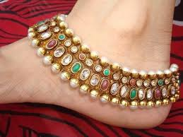 anklets designs in tanishq in Botswana