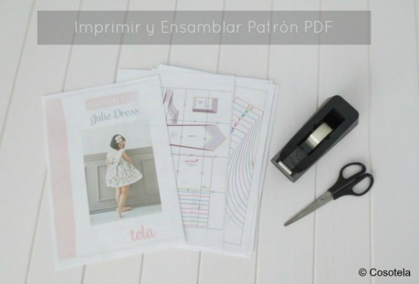 Imprimir patrón pdf Julie Dress